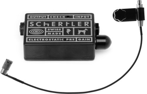 Schertler STAT-B Electrostatic Transducer for Double Bass with STAT-Preamplifier