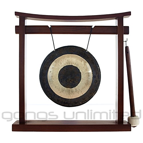 7″ to 8.5″ Gongs on the Pretty Chill Gong Stand