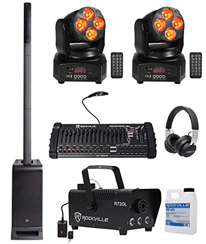 JBL DJ Package w/EON One PRO Speaker+Sub+Fogger+(2) Moving Heads+DMX Controller
