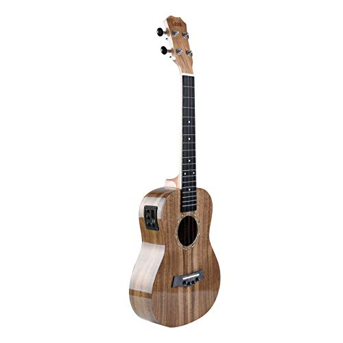 Caramel CB205 All Solid Acacia High Gloss Baritone Acoustic & Electric Ukulele With Truss Rod