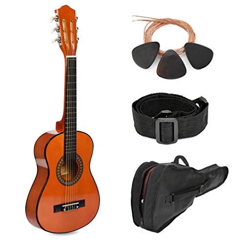 30″ Sunset Wood Guitar with Case for Kids/Girls/Boys/Beginners