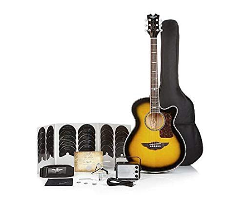 Keith Urban Acoustic Electric Guitar On Tour 40-pc Guitar Pkg Brazilian Burst (Right)