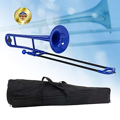 Libretto Bb Plastic Trombone, Ocean Blue, Adding A Unique Flare To Big Band Music, To Jazz Trios, To R&b, Etc