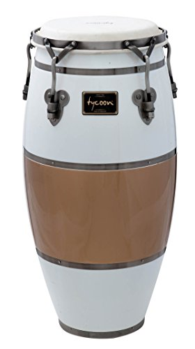 Tycoon Percussion TSCHBC100CCL Signature Heritage Cafe Con Leche Series Requinto 10 Conga
