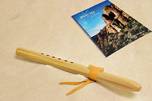 Windpony Poplar Flute in the Key of A with Instruction Book