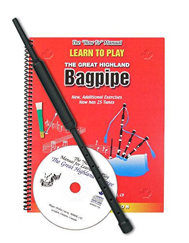 Learn to Play Bagpipes Kit by Major Archie Cairns