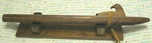Native American Flute – Solid Figured Walnut Wood – Key of F – Hand Made – Highest Quality – Awesome sound