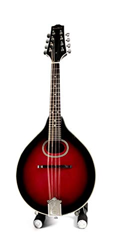 A-Style Mandolin With Traditional Oval Soundhole RIGHT HANDED Wineburst Finish Set-Up & Adjusted In My Shop For Easy Play