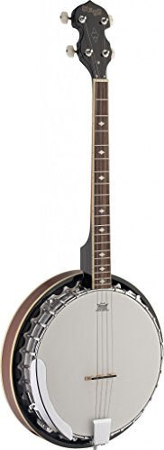Stagg BJM30 4-String Bluegrass Banjo Deluxe with Metal Pot