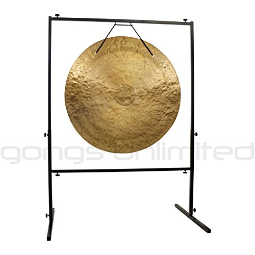 32″ to 36″ Gongs on the Rambo Rimbaud Gong Stand