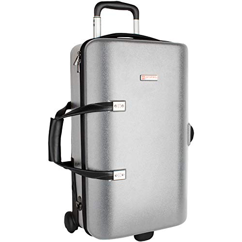 Protec Triple Trumpet Case with Wheels, Silver (BLT301TSX)