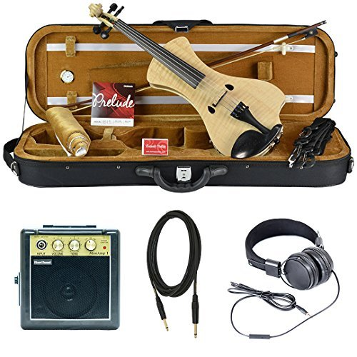 Bunnel NEXT Clearance Electric Violin (Natural Flame) BN400