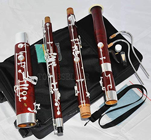 FidgetFidget Professional old Maple Bassoon Heckel system High D E Silver key New With Case