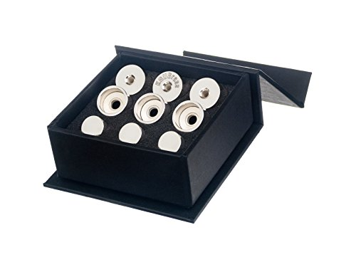 Trumpet Trim Kit for improving the sound. for all Bach Stradivarius Trumpet. Custom made KGUBrass (LIGHT, Silver Plated)