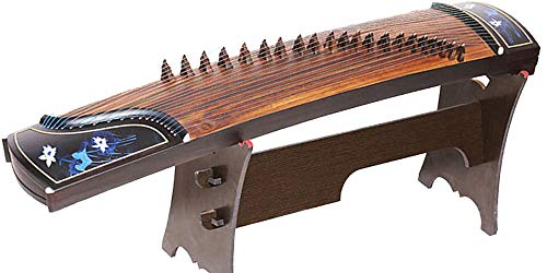 Chinese Zither 163cm 21-Strings First Class Lankao Platane Wood Classical Musical Instrument
