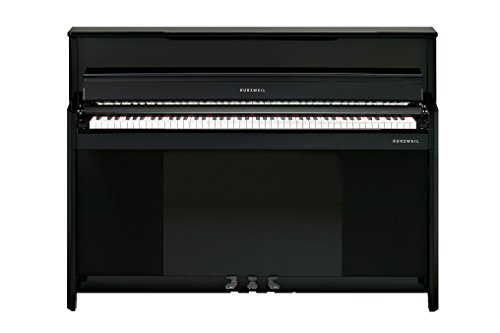 Kurzweil Home CUP1-EP 88-Note Compact Digital Upright Piano, Ebony Polish (CUP1-EP)