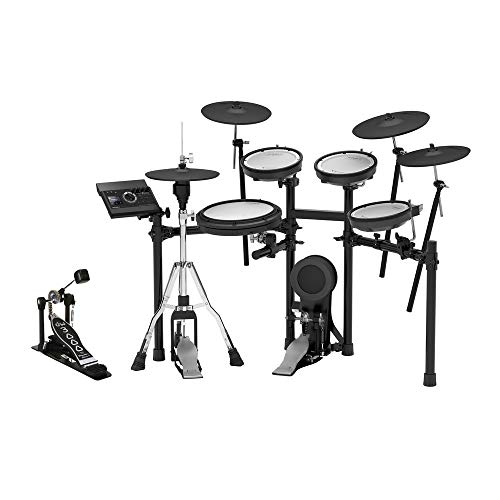 Roland TD-17KVX-S V-Drums Electronic Drum Set and DW-3000 Single Bass Pedal Bundle