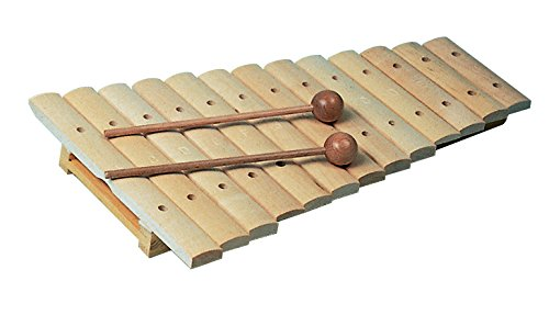 Goldon 13 Sound Plate Xylophone in Colored Box