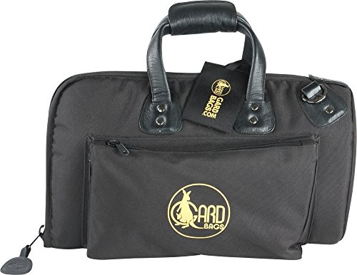 Gard Mid-Suspension Cornet Gig Bag 3-MSK Black Synthetic w/ Leather Trim