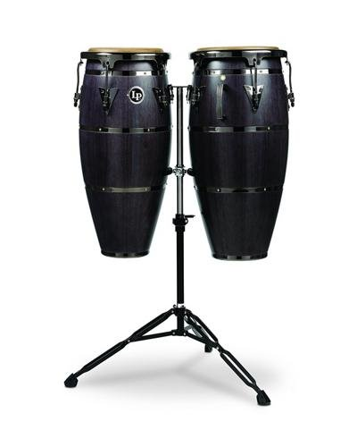 Latin Percussion LPH646-ES Highline Series Congas Ebony stain