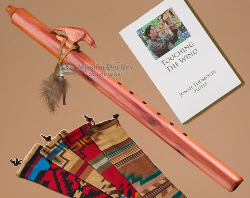 Native American Cedar Flute Pack -Eagle & Bag
