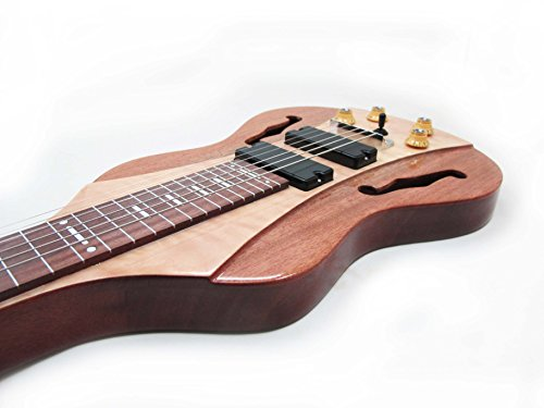 Vorson FLSL-220 Professional Lap Steel Pack with F-Holes, Natural