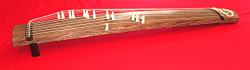 Japanese Koto zither, 13 strings, 6-feet length, including Koto bridges w/import shipping 新品 調弦済 十三絃 箏 琴 上甲 角巻 口前袋 琴柱 (長めのサイズ)