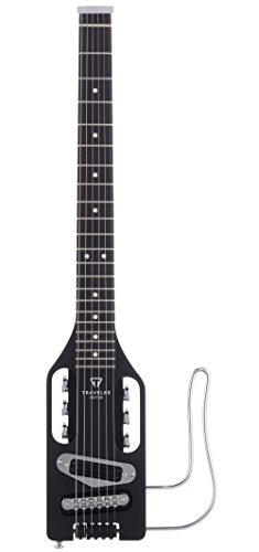 Traveler Guitar 6 String Solid-Body Electric Guitar Right, Matte Black ULE BKM