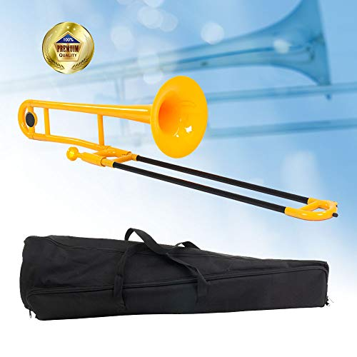 Libretto Bb Plastic Trombone, Canary Yellow, Adding A Unique Flare To Big Band Music, To Jazz Trios, To R&b, Etc