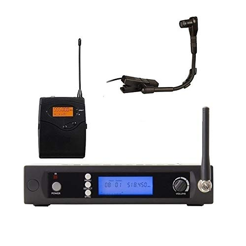 Bolymic BL3100 Instrument Microphone Saxophone for Saxophone Tuba Trumpet Clip on Microphone