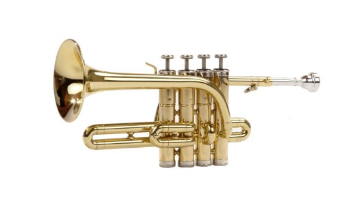 Classic Cantabile PT-180 Piccolo Trumpet Brass Tuned to B