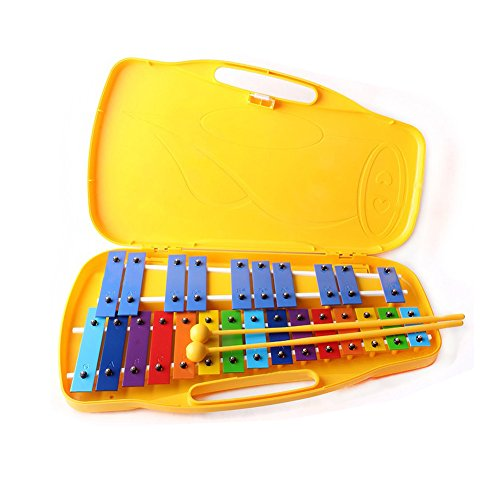 Youngchang 25keys Student Xylophone Instrument with case and sticks YX-25K