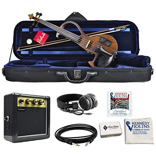 Bunnel EDGE Clearance Electric Violin Outfit Amp Included BE300 (Zebrano)