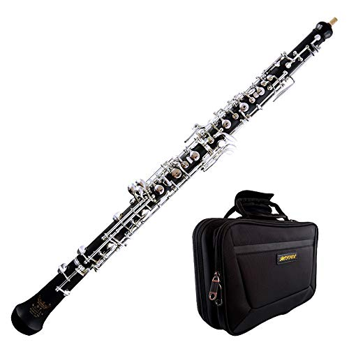 Roffee Student Level Composite Wood Semi Automatic Silver Plated Oboe
