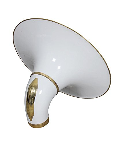 BEST QUALITY SOUSAPHONE SMALL Bb PITCH WHITE WITH FREE CARRY BAG + MP + SHIP