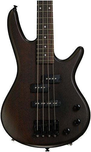 Ibanez 4 String Bass Guitar Right Handed, Walnut Flat GSRM20BWNF