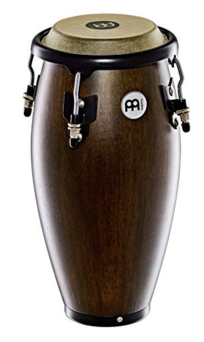 Meinl Percussion 4 1/2″ Mini Conga with Hardwood Shell and Tunable Buffalo Skin Head – NOT MADE IN CHINA – Vintage Wine Barrel, 2-YEAR WARRANTY MC100VWB