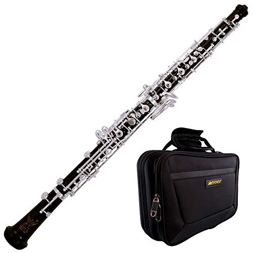 Roffee Professional Performance Level Ebony body Full Automatic Silver Plated Oboe