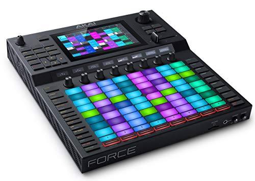 """Akai Professional Force – Standalone Music Production / DJ Performance System with 7"""" full colour multitouch display and clip launch matrix"""