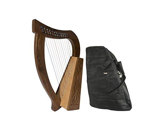 Baby Celtic Harp Package Includes: Baby Celtic Harp – Birch + New Baby Harp Nylon Carry Case Bag