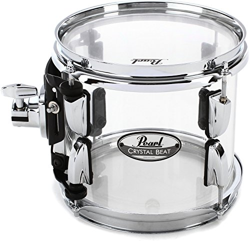 Pearl Crystal Beat Mounted Tom – 8″ – Ultra Clear