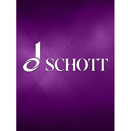 Sonata for Bassoon and Piano Schott Series Pack of 2