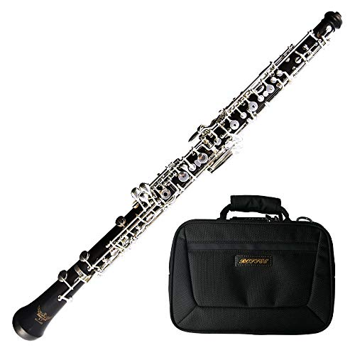 Roffee Ebony body Full Automatic Silver Plated Student Level Oboe