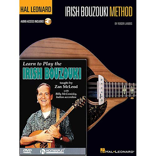 Irish Bouzouki Instructional Pack Homespun Tapes Series Softcover with DVD Written by Roger Landes Pack of 2