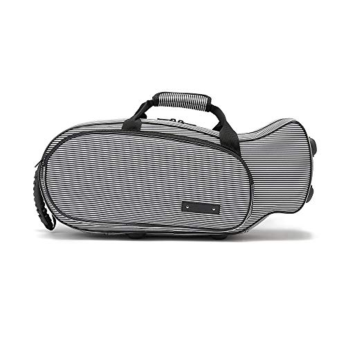 Beaumont Tru-fit Bb Trumpet Case – Universal Fit for a Range of Trumpets – Designed with 3D Scanning Technology – Pinstripe
