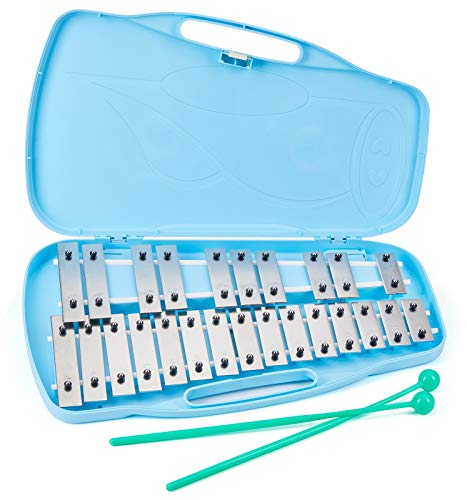 silverstar glockenspiel 25 note xylophone kids musical instrument percussion Educational Instruments