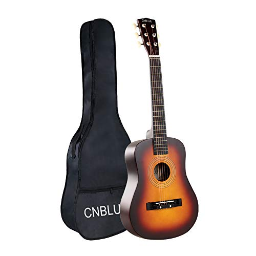 Acoustic Guitar Kid Beginner Guitar 30 Inch 1/2 Half Size Steel Strings Small Child Guitar Starter Kits Students Boy Girl Guitar