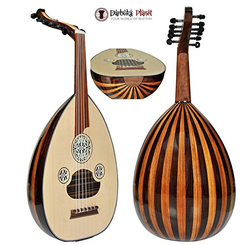 Amazing -The Turkish palace Top Level Professional Oud + Soft Case – Cat#LS201