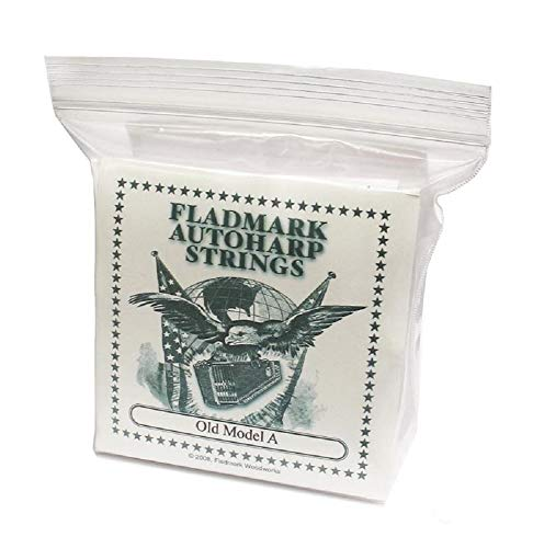 Fladmark Autoharp Strings – Type A and Type B (Old Model A)