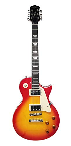 Oscar Schmidt OE20CS LP Style Electric Guitar – Cherry Sunburst